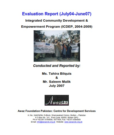Evaluation Report  04-07