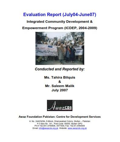 Evaluation Report  04-07