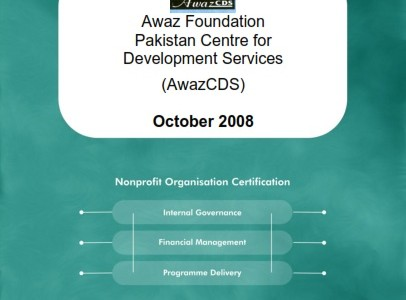 Evaluation Report Awaz Foundation Pakistan: Centre for Development Services