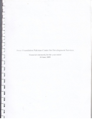 Financial Statement 2009