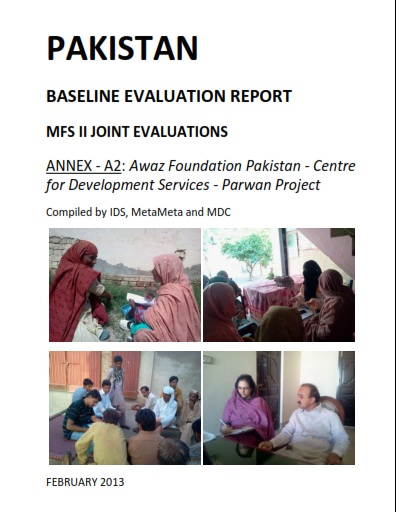 BASELINE EVALUATION REPORT