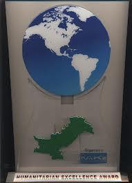 Humanitarian Excellence Award 2010