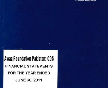 Financial Statement for the year ended June 30, 2011