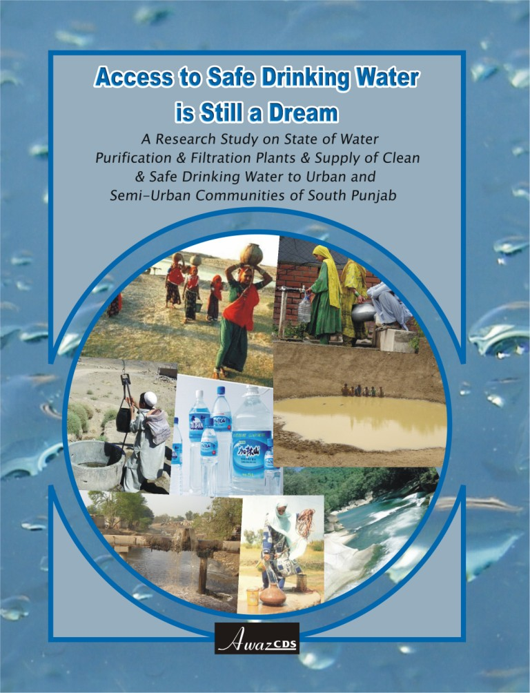 Access to Safe Drinking Water is Still a Dream