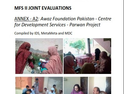 BASELINE EVALUATION REPORT MFS II JOINT EVALUATIONS