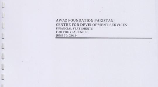 Financial Statement 2018-2019
